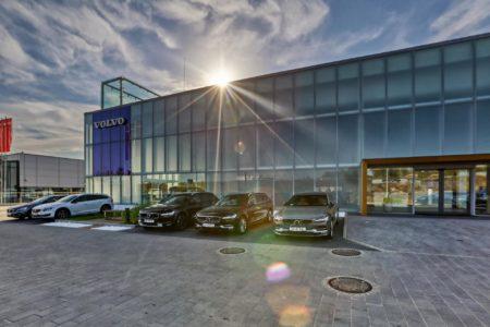 salon Volvo Eurokas dzień
